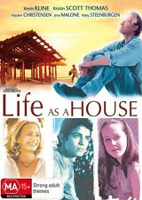 Life As A House DVD BRAND NEW TOP 1000 MOVIES Hayden Christensen Kevin Kline R4