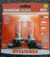 Sylvania SilverStar Ultra 9012 Halogen Dual Pack/ Brand New/Sealed!!💡