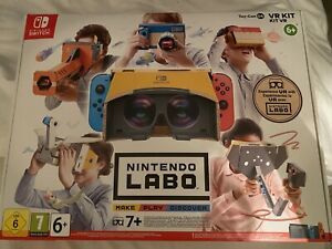 Nintendo Labo VR Kit - 5 Out Of 6 Objects Brand New