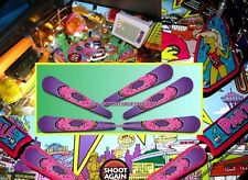 THE SIMPSONS PINBALL PARTY Pinball Flipper Armour Mod-5 piece set