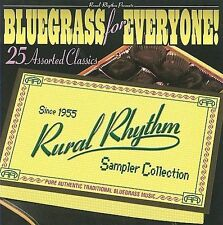 """BLUEGRASS FOR EVERYONE, CD """"25 ASSORTED CLASSICS"""" NEW"""