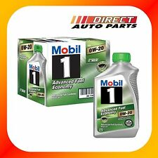 MOBIL 1 0W20 FULLY SYNTHETIC ENGINE OIL 6 QUARTS IN CASE