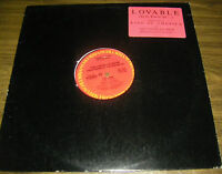 "Elvis Costello Lovable Promo 12"" Single"