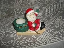Partylite Santa 'N Sleigh Votive Holder-P0326 - Bin H