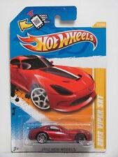 HOT WHEELS  2012 NEW MODELS 2013 VIPER SRT #11/50 RED WHEELS ERROR