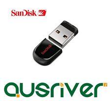 SanDisk Cruzer Fit CZ33 32GB USB2.0 MINI Flash Driver Ultra Thin