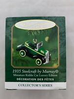 2000 Hallmark Keepsake Miniature Ornament 1935 Steelcraft by Murray Kiddie Car