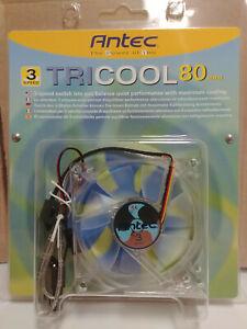 Antec TriCool 3 speed 80mm Case Fan