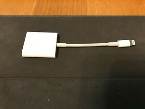 GENUINE APPLE LIGHTNING TO SD CARD CAMERA READER