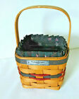 Vintage Longaberger handwoven basket collectible scarce 1993 Inaugural complete!