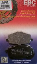 Ebc/fa101 Pastillas De Freno (trasera) - Yamaha Dt125r, tdr125, Xt600, Xtz660 Ténéré