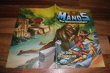 MANOS der DÄMONENJÄGER # 33 // 1.1.1984 -- mit Fantasy-Poster