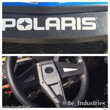 2015-2017 Polaris RZR 900s 900 900xc Inlay Decals FULL SET - Silver Carbon Fiber
