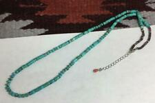 Gorgeous  turquoise heishi /violet spiny oyster shell necklace(B162g-w0.5)