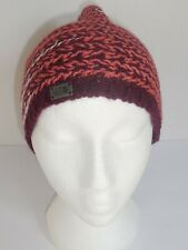 The North Face Kaylinda Beanie Womens Burgundy Knit Hat New One Size Merino Wool