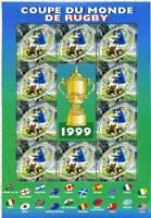 Bloc Feuillet BF26 - Coupe du monde de Rugby - 1999