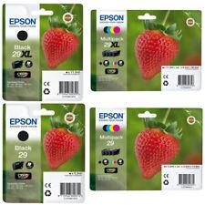 ORIGINAL DRUCKER TINTE PATRONEN Epson 29 / 29xl Erdbeere-Serie T2981 T2991