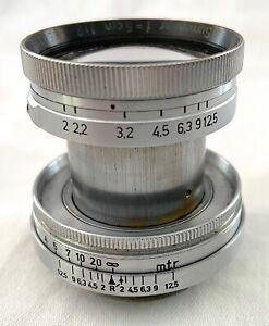 LEITZ LEICA SUMMITAR 2/5cm Nr.523xxx Vorkriegsmodell - selten