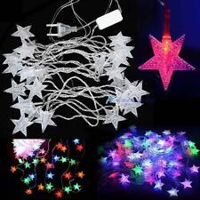 5m 28led pentagrama cuerda Fairy Cool Luz Navidad Fiesta de boda decoracion OP