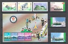 Hong kong China Sc# 788-50 Landmarks Sc# 812-14 Ships Sc# 779c 2sets & sheet MNH