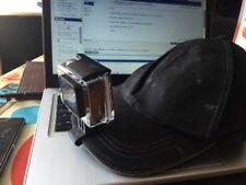 Go Pro Cap Hat Mount Adapter GoPro Hero 3 3+ 4 5 6 HD Camera Accessories Fun