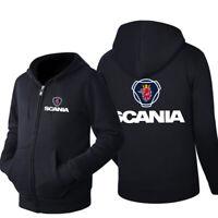 2019 New SCANIA Printed Hoodie Sporty Sweatshirt Cosplay Jacket Spring Coat