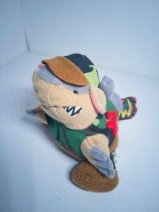 """MEANIES BEANIE SERIES 1 """"Armydillo"""" Army armadillo plush MWMT vintage 1998"""