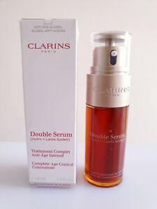 Clarins Double Serum Hydric + Lipidic System Complete Age Control 50ml - GENUINE