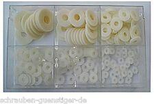 Sortiment Polyamidscheiben DIN 9021  M3 - M10 235 Teile Kunststoffscheiben