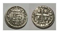 ESPAÑA. FELIPE IV. PHILIP IV. 1/2 REAL 1627 SEGOVIA P. ACUÑACIÓN DESCUIDADA.MBC+