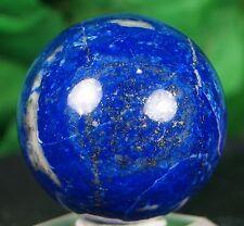 Lapis lazuli Ball/Sphere 43 mm  hand carved mineral specimen reiki healing