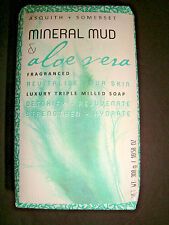 New Asquith & Somerset Made in Portugal Bath Bar Soap Mineral Mud & Aloe Vera