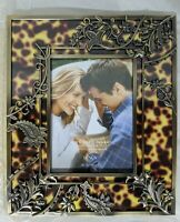 "Lenox China Picture Frame Burnished Amber 5"" x 7"" ~ NEW in BOX"