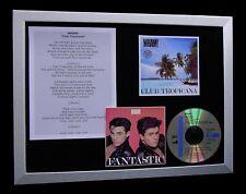 GEORGE MICHAEL+WHAM Club Tropicana QUALITY CD FRAMED DISPLAY+EXPRESS GLOBAL SHIP