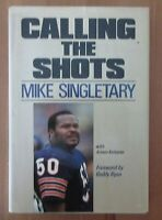football old book MIKE SINGLETARY AUTOBIOGRAPHY SIGNED BY AUTHOR ARMEN KETEYIAN