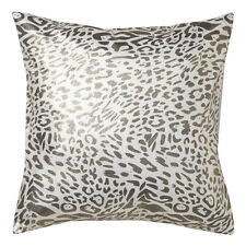 ROXIE GOLD Leopard Square Filled Cushion 41cm x 41cm Ultima Logan & Mason