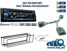Peugeot 307 Bj. 2002 - 2005 Autoradio Einbauset *Schwarz* inkl. JVC KD-R871BT ..