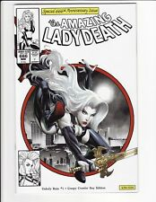 Amazing Lady Death Unholy Ruin #1 Creepy Crawler Day Edition Coffin Comics VF/NM