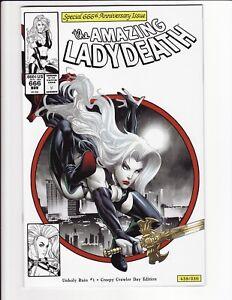 Amazing Lady Death Unholy Ruin #1 Creepy Crawler Day Edition Coffin Comics VF/NM