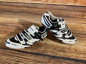 SHIMANO R086 Road Cycling Shoes Biking Boots 3 Bolts Size EU45, US10.5