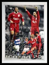 *New* Neil Razor Ruddock Signed 12x16 Liverpool Fc Photograph