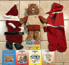 Teddy Ruxpin Bear with 4 Books and Tapes