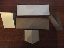 "750 Flat Vending 3x4.5"" Cardboard Folders Sleeves Stickers Tattoos Pokemon Cards"
