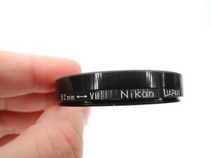 Nikon Genuine 52mm To Series 7 VII Camera Lens Adapter w/ Retaining Ring & Box