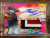 Michael Chavis 2020 Topps Inception Auto Jersey Patch /75 RC Boston Red Sox