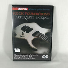 Rock Foundations Alternate Picking - Lick Library Ultimate Guitar Lessons DVD