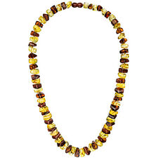 COLLANA COLLIER AMBRA BICOLORE 58 cm Collana Collana di Ambra bernsteincollier
