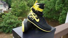 NIB Nike SF Air Force 1 Sneakers Yellow - Mens - Size 10