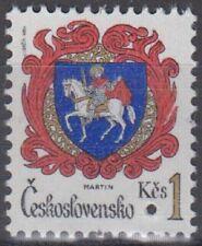 Specimen, Czechoslovakia Sc2501 City Arm, Martin, Horse