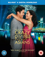 Crazy Rich Asians Blu-ray (2019) Constance Wu, Chu (DIR) cert 12 ***NEW***